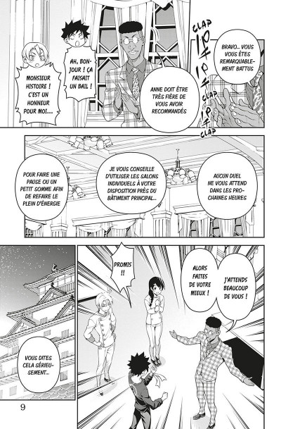 Page 7 Food wars ! tome 35