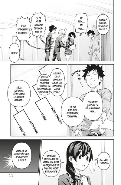 Page 9 Food wars ! tome 35