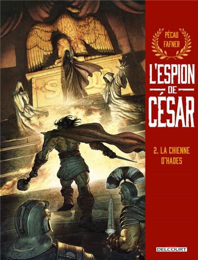 Couverture L'espion de César tome 2