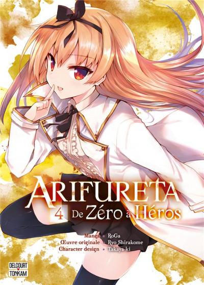 Couverture Arifureta - de zéro à héros tome 4