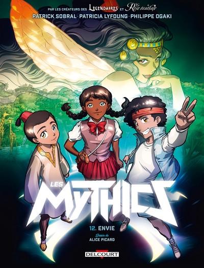 Couverture Les mythics tome 12