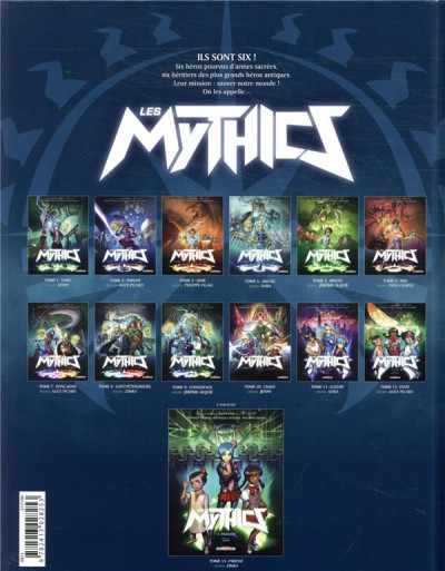 Dos Les mythics tome 12