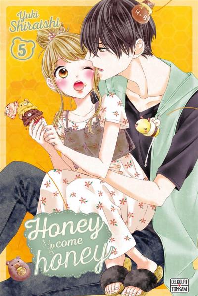Couverture Honey come honey tome 5