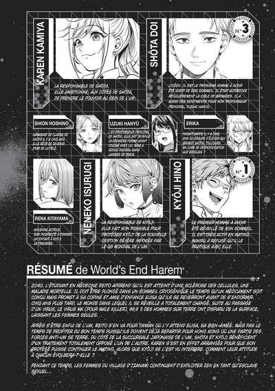 Page 6 World's end harem tome 9