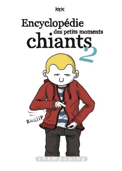 Couverture Encyclopédie des petits moments chiants tome 2