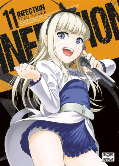 Couverture Infection tome 11
