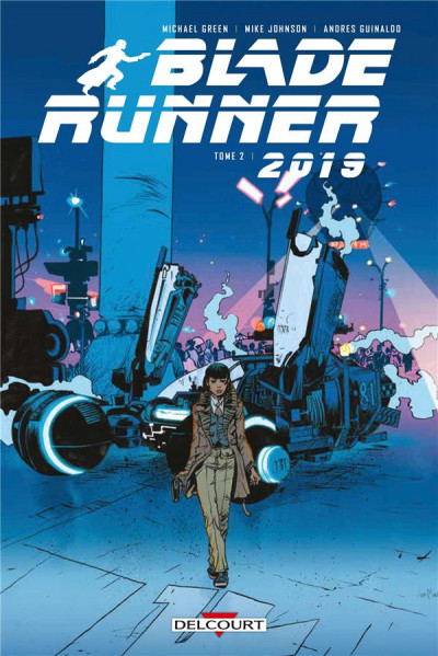 Couverture Blade runner 2019 tome 2