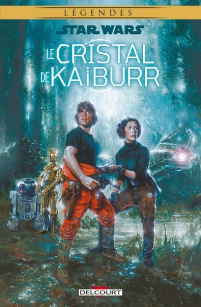 Couverture Star Wars - Le cristal de Kaiburr