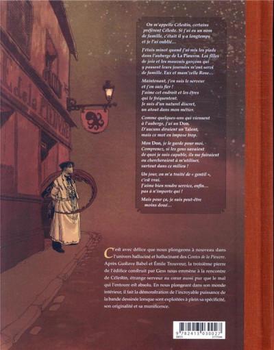 Dos Célestin et le coeur de Vendrezanne