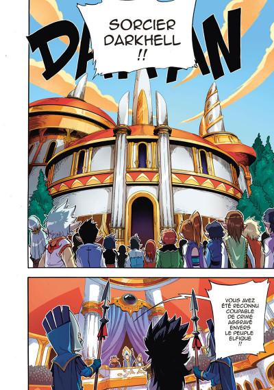 Page 2 Les légendaires - saga tome 4