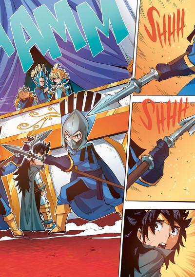 Page 6 Les légendaires - saga tome 4