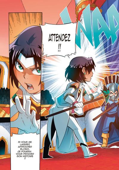 Page 7 Les légendaires - saga tome 4