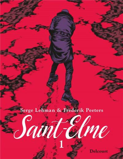 Couverture Saint-Elme tome 1 + ex-libris offert