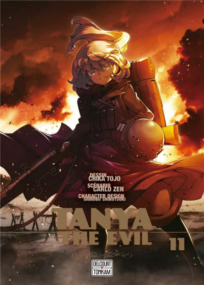 Couverture Tanya the evil tome 11