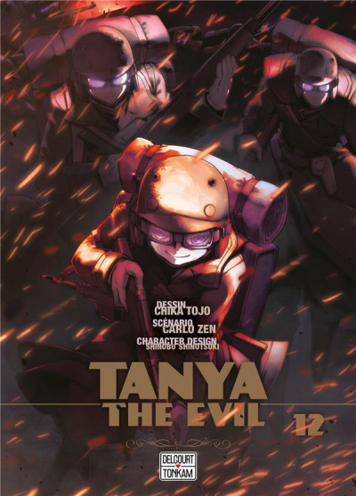 Couverture Tanya the evil tome 12