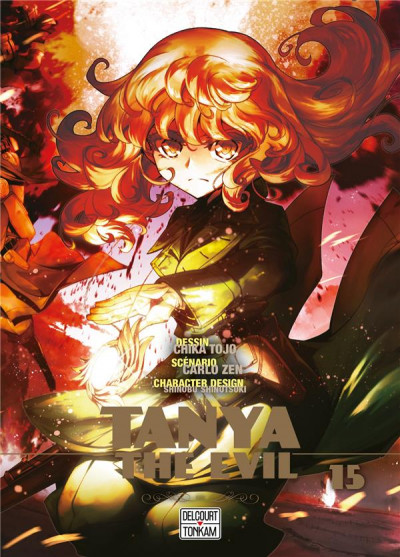 Couverture Tanya the evil tome 15