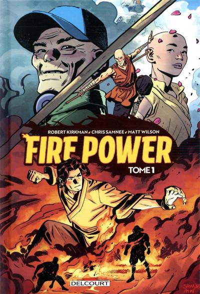 Couverture Fire power tome 1 + ex-libris offert