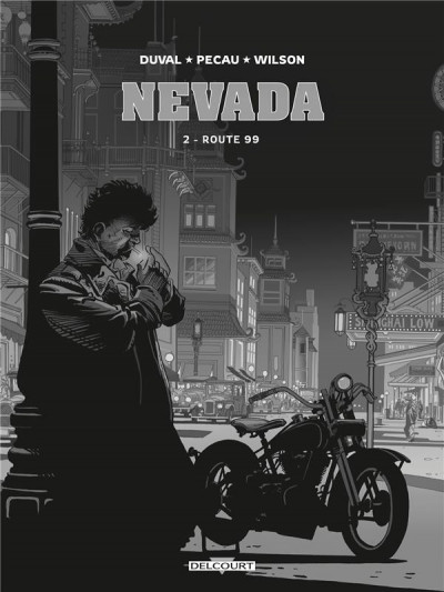 Couverture Nevada - édition luxe n&b tome 2