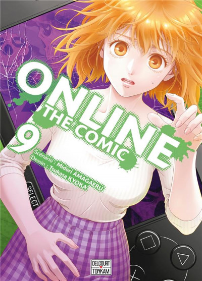Couverture Online the comic tome 9