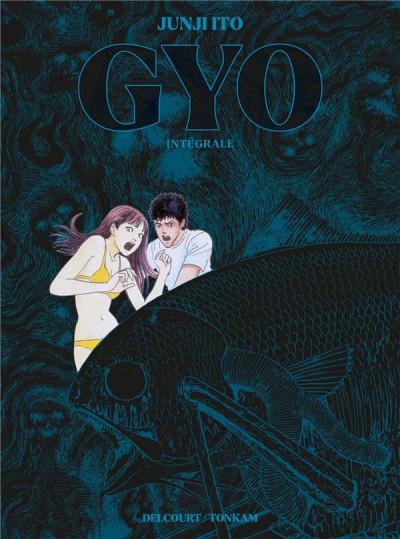 Couverture Gyo - intégrale