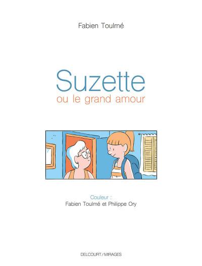 Page 1 Suzette ou le grand amour + ex-libris offert