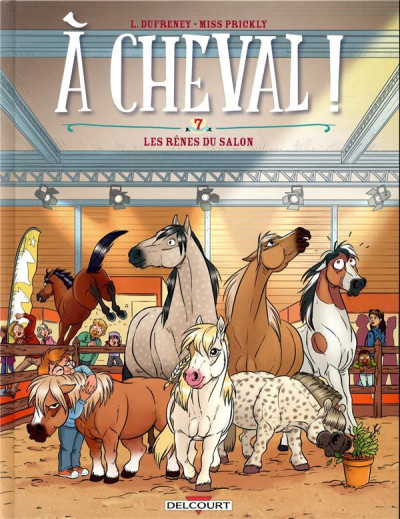 Couverture À cheval ! tome 7