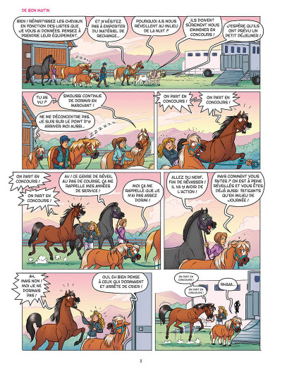 Page 6 À cheval ! tome 7