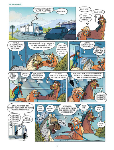 Page 9 À cheval ! tome 7