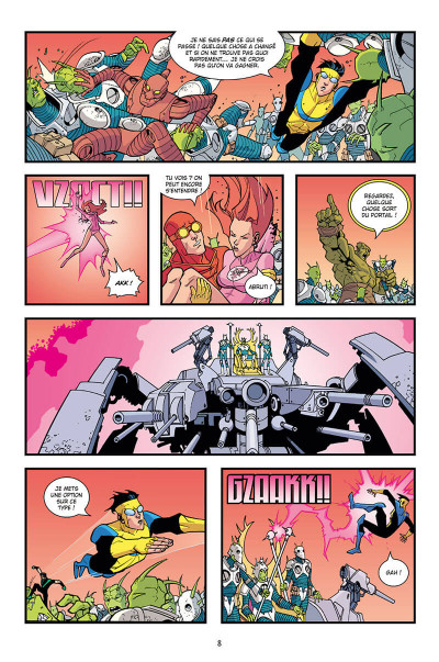 Page 8 Invincible - intégrale tome 2