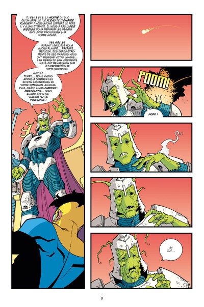 Page 9 Invincible - intégrale tome 2