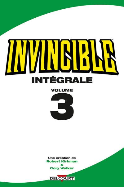 Page 1 Invincible - intégrale tome 3