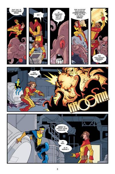 Page 8 Invincible - intégrale tome 3