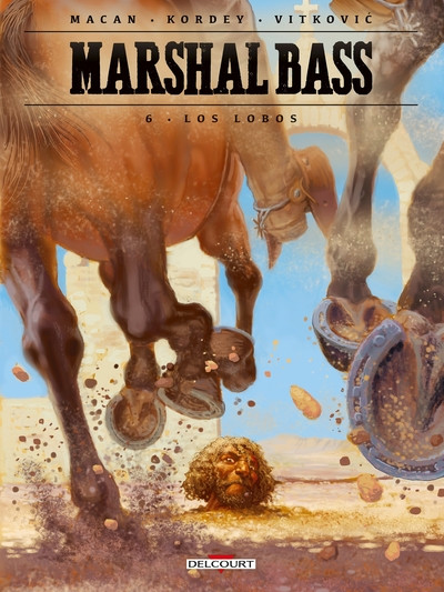 Couverture Marshal bass tome 6 + ex-libris offert