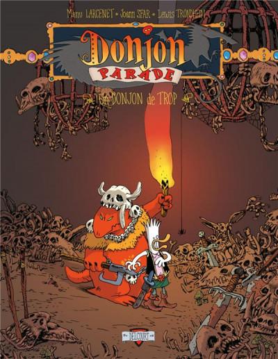 Couverture Donjon Parade - pack tomes 1 à 3