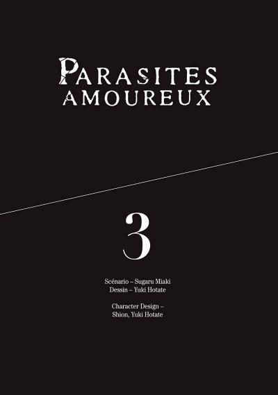 Page 1 Parasites amoureux tome 3