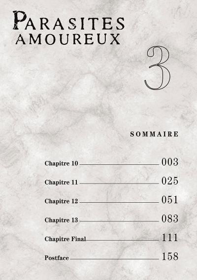 Page 2 Parasites amoureux tome 3