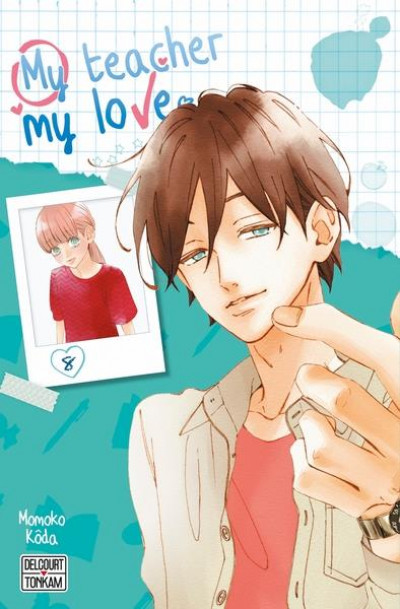 Couverture My teacher, my love tome 8