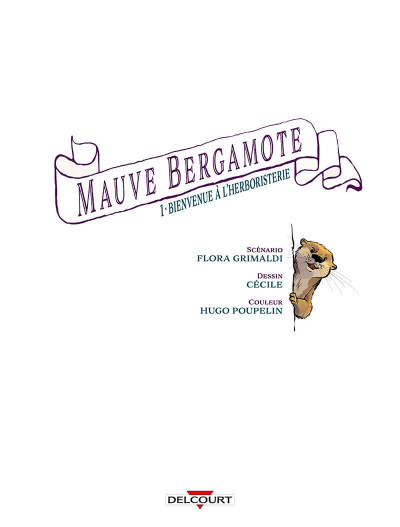Page 1 Mauve bergamote tome 1