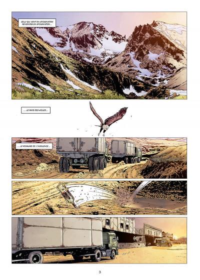 Page 3 Histoire et destins - Le garde du corps de Massoud