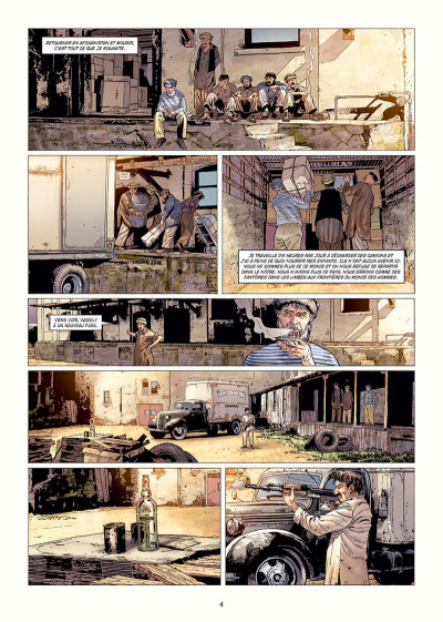 Page 4 Histoire et destins - Le garde du corps de Massoud
