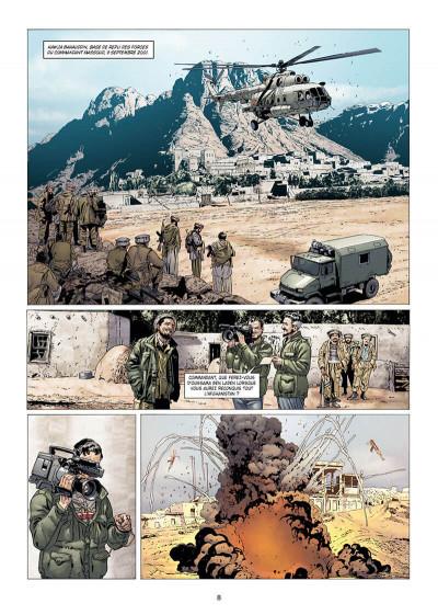 Page 8 Histoire et destins - Le garde du corps de Massoud