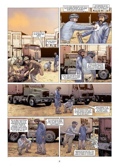 Page 9 Histoire et destins - Le garde du corps de Massoud