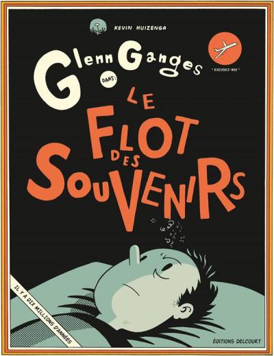 Couverture Glenn Ganges dans le flot des souvenirs
