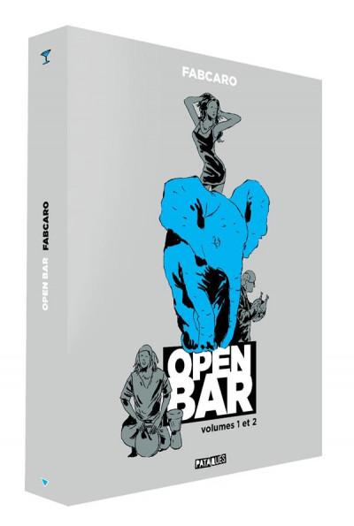 Couverture Open bar - coffret tomes 1 et 2