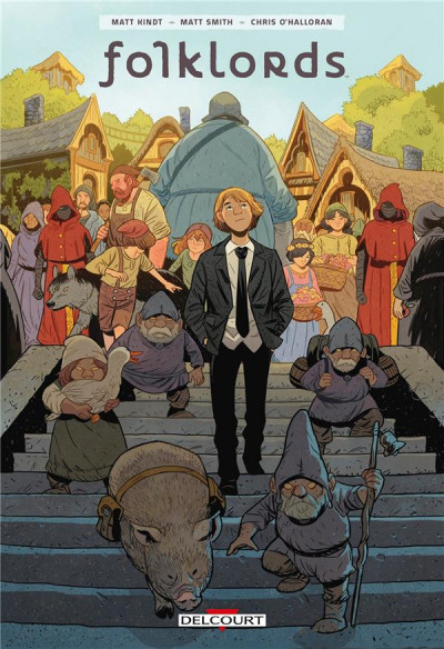Couverture Folklords tome 1