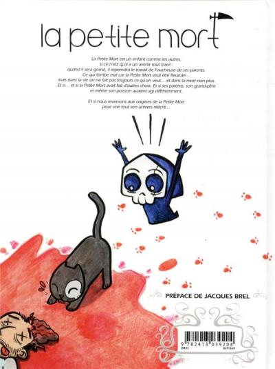 Dos La petite mort tome 1,5