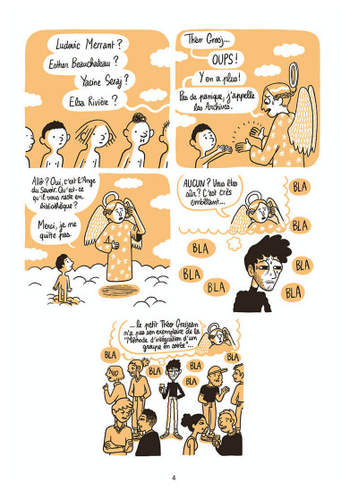 Page 5 L'homme le plus flippé du monde tome 2