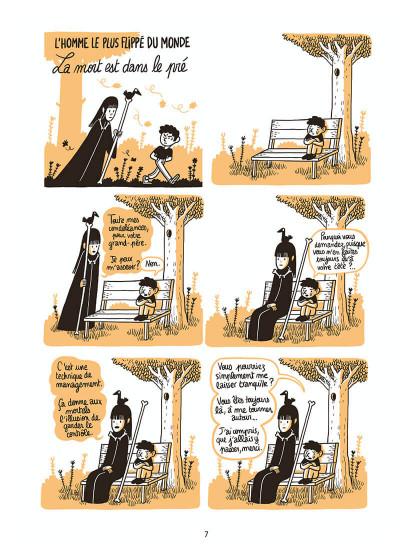 Page 8 L'homme le plus flippé du monde tome 2