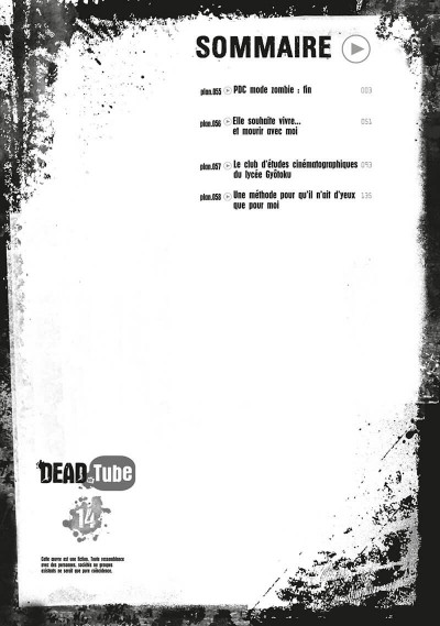 Page 2 Dead tube tome 14
