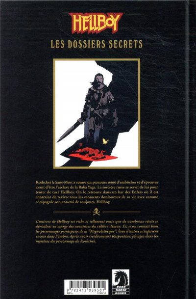 Dos Hellboy - dossiers secrets tome 2